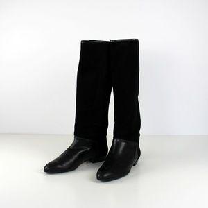 Peiro Marazzini black leather boots. size 9